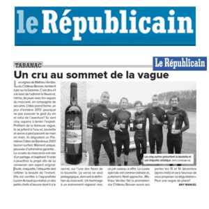 article-presse-le-republicain-cuvee-mascaret-mathieu-verdier