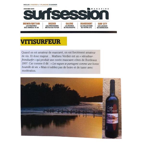 article-presse-surf-session-cuvee-mascaret-chateau-bessan
