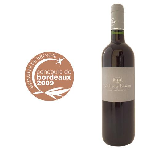 concours-des-vins-de-bordeaux-médaille-argent-cotes-de-bordeaux-Chateau-bessan