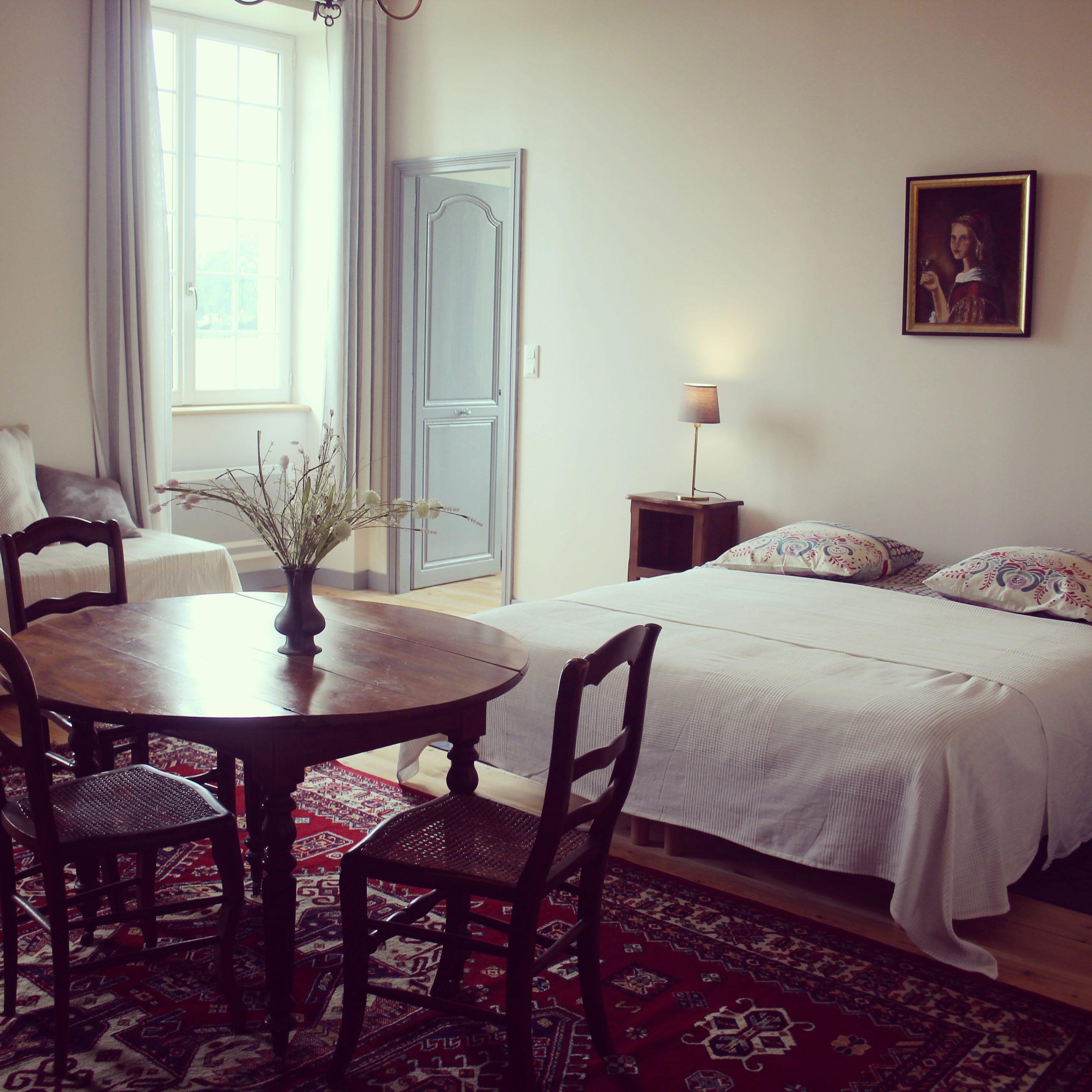 chambre d'hote coté terrasse chateau bessan